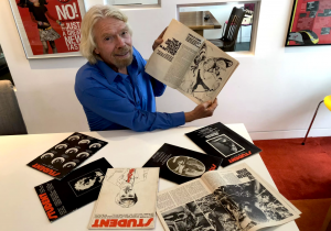 Richard Branson's first business Student Magazine